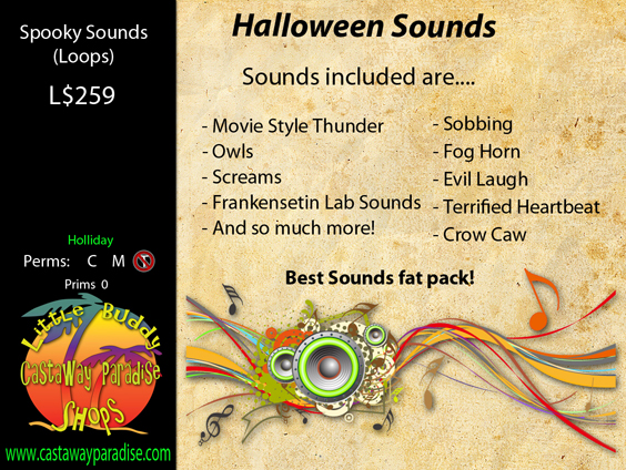 Spooky Sound Pack Small
